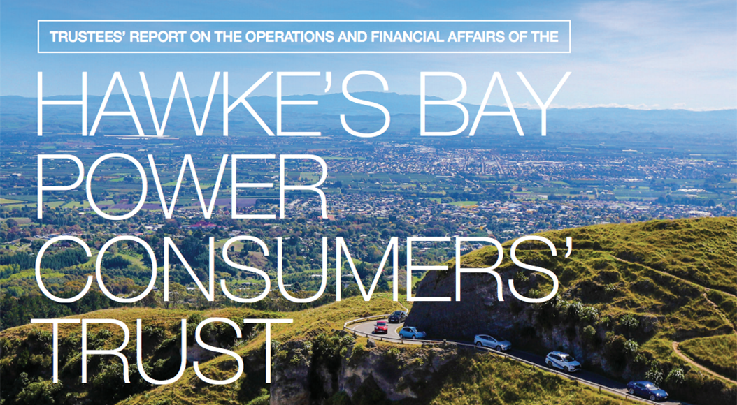 10% increase in Hawke's Bay Power Consumers' Trust dividend cheque
